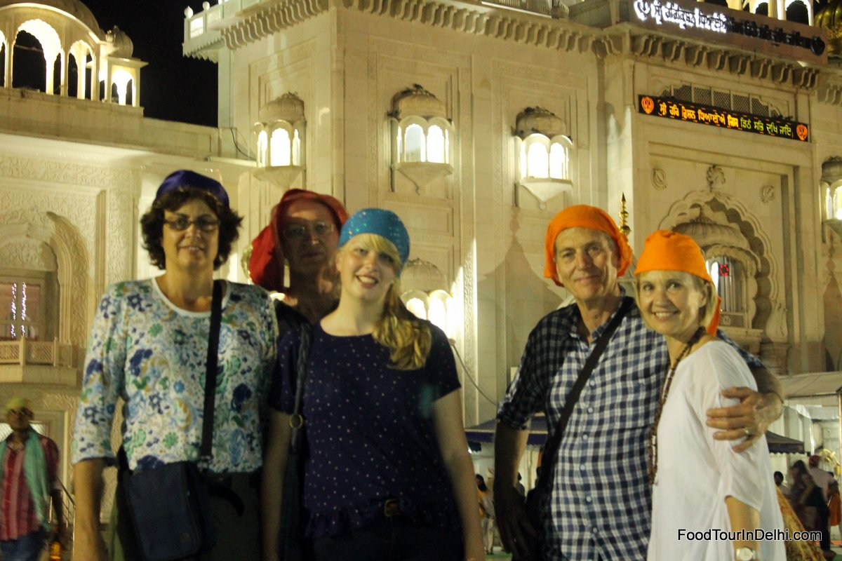 A visit to a Sikh temple