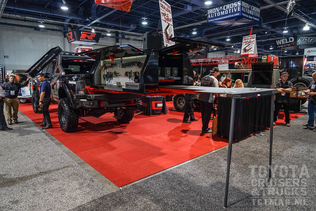 SEMA 2017 part 1 cargoglide