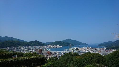宇和島の展望がよい