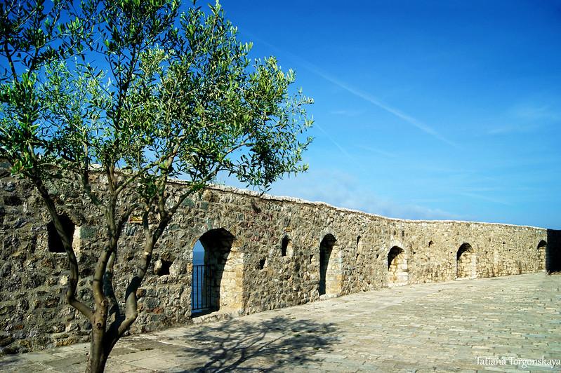 Стены Старого Улциня
