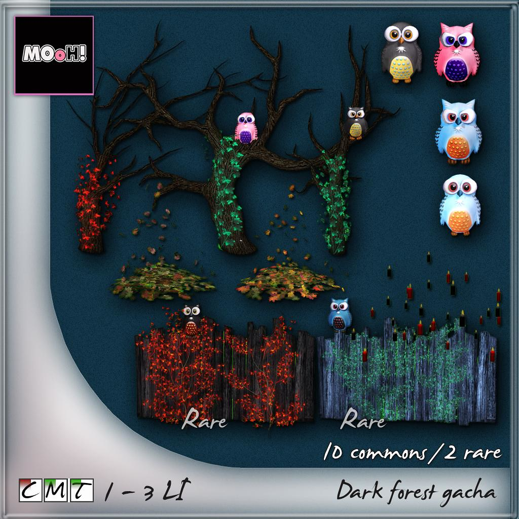 MOoH! Dark forest gacha