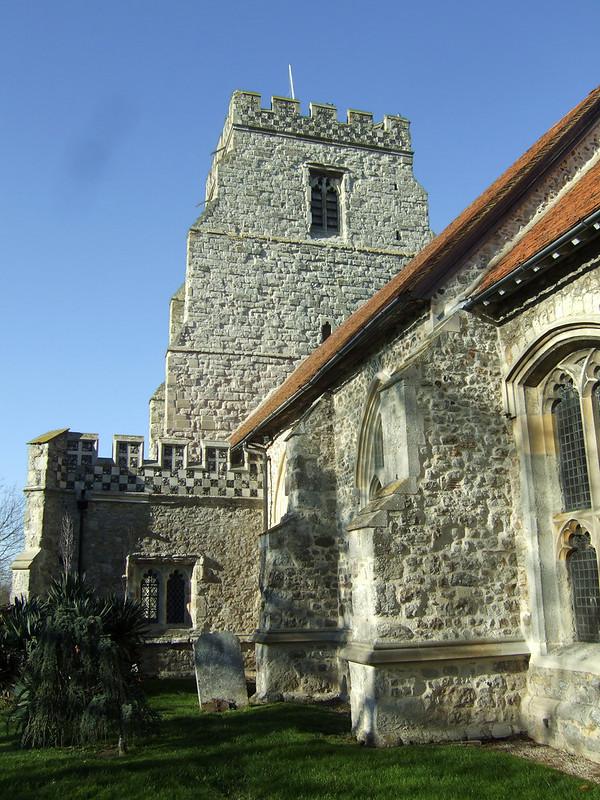 Canewdon church
