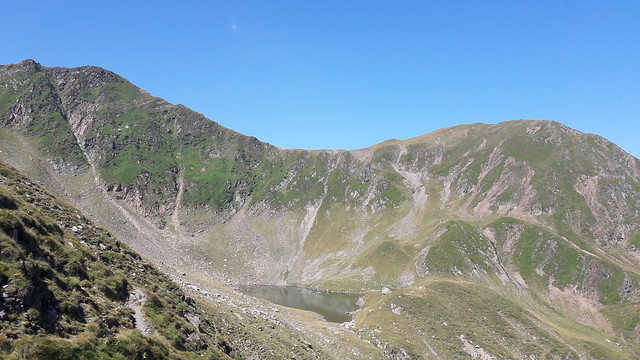 Fagaras Mountain Ridge