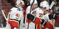 Flames get first win in Anaheim since 2004