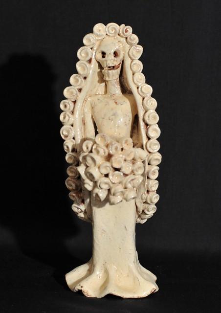 Skeleton Bride Michoacan Mexico