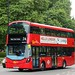 Go Ahead London WHV158 BV66VLN Park Lane, London 11 September 2017