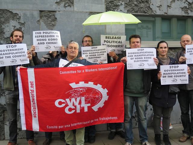 Stop à la répression à Hong Kong – libérez les prisonniers politiques !