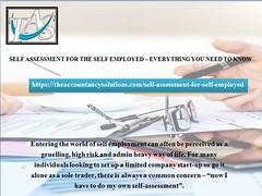 self Assessment Accountant in London | TAS