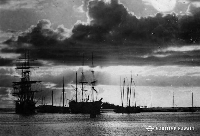 Sailing Ships at Anchor