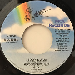 GUY:TEDDY'S JAM(LABEL SIDE-A)