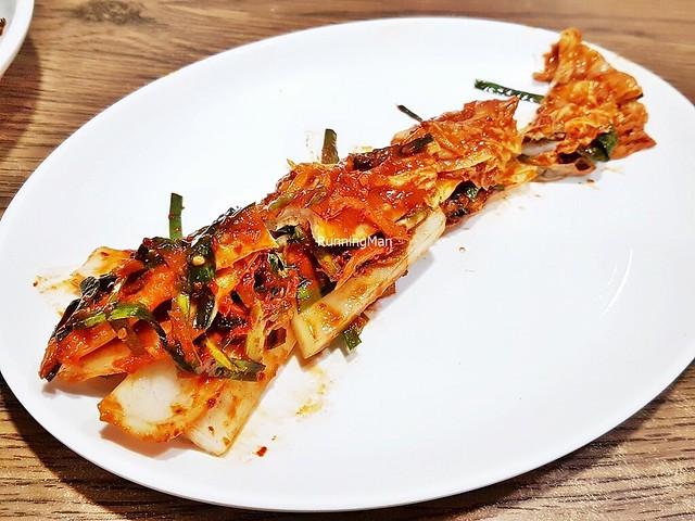 Kimchi Baechu / Kimchi Pickled Cabbage