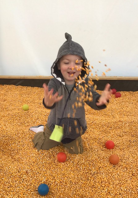 Jack's preschool Field Trip to McPeek's Mighty Corn Maze