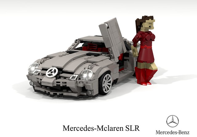 Mclaren Mercedes SLR Coupe