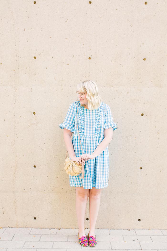 austin fashion blogger writes like a girl asos gingham dress9
