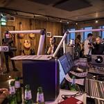 ADE 2017 3FM vanuit de Gibsonroom