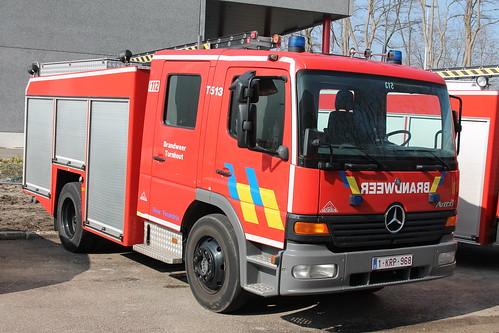 Autopomp T513 Brandweer Turnhout