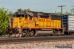 UP 2023 | EMD GP60 | UP Memphis Subdivision