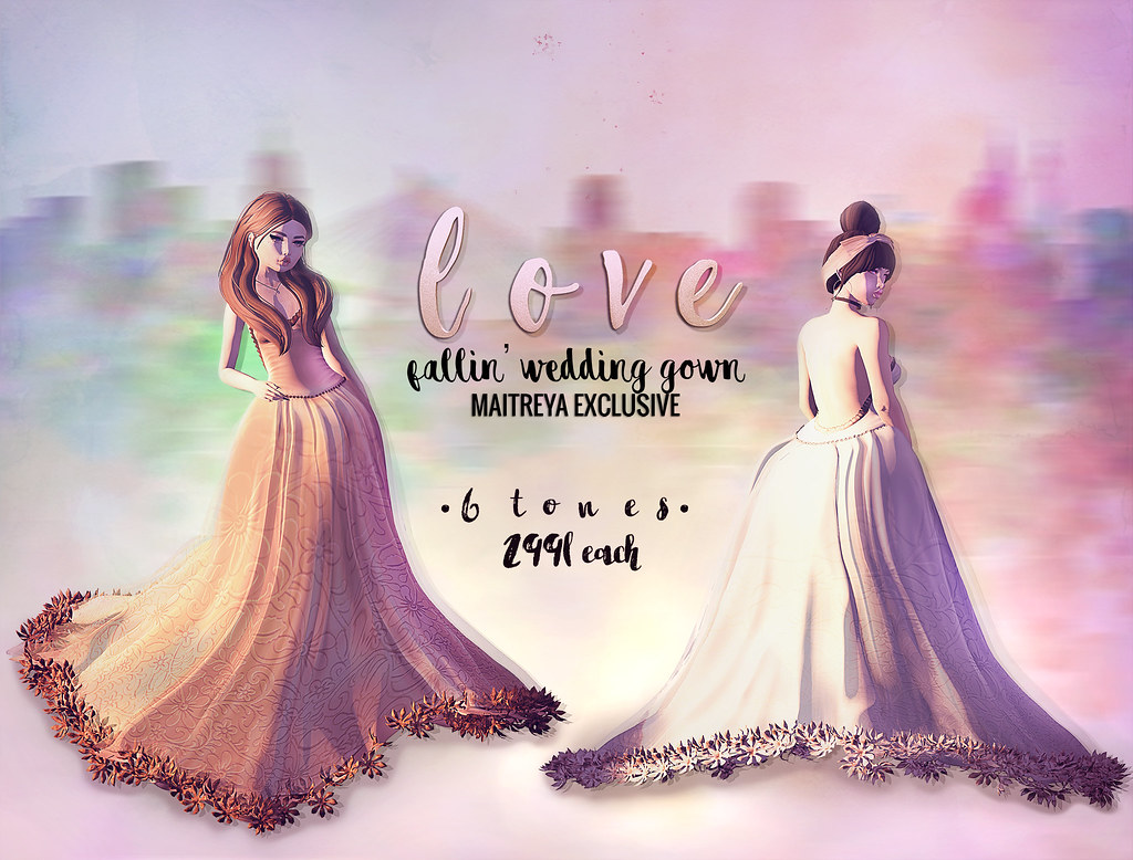Love [Fallin' Wedding Gown] @ The Trunk Show!