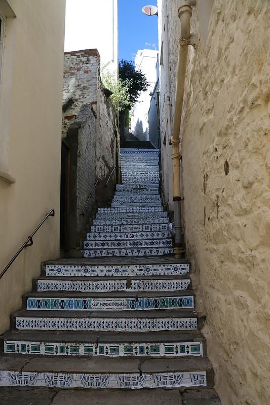 Message Steps, St Peter Port, Guernsey