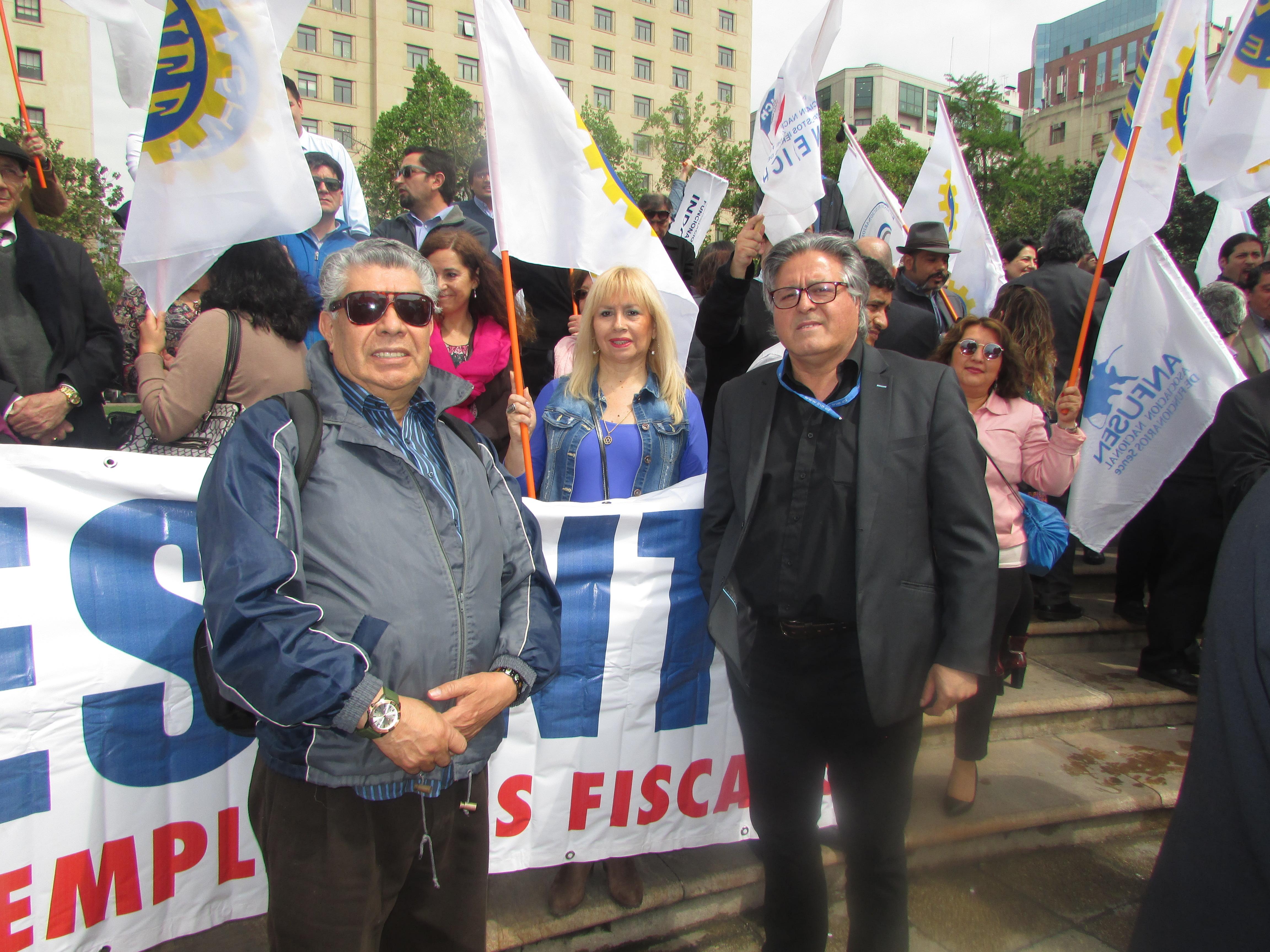 ANFINE presente en Jornada de Protesta y Movilización por demandas MSP-CUT – 17 Octubre 2017