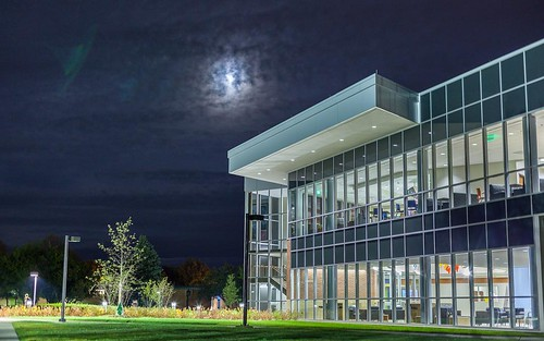 October nighttime vibes in Valpo.