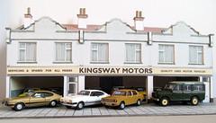 Car showroom 1/76 scale