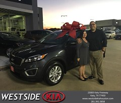 #HappyBirthday to Jourdan from Rick Hall at Westside Kia!