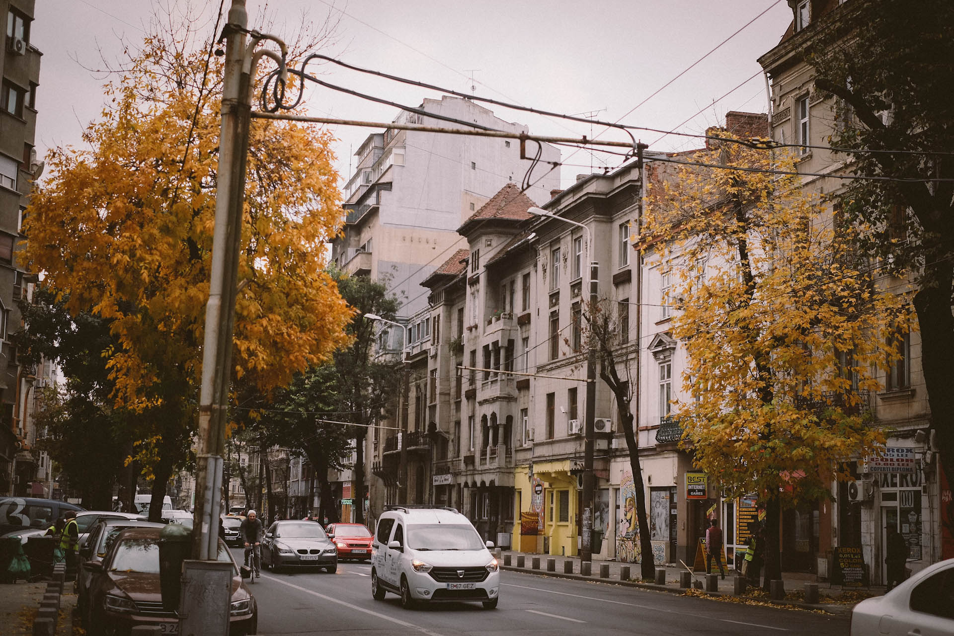 Bucharest Autumn, Romania