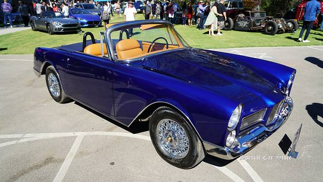1960 Facel Vega Facellia Convertible at Red White and Blue theme Art Center Car Classic 2017