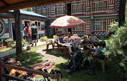 Potala Guesthouse in der Ortschaft Tal
