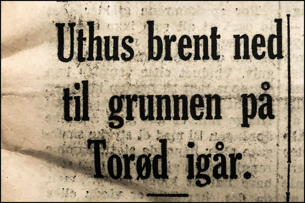 Faksimilie fra Tønsbergs Blad torsdag 3 juli 1941