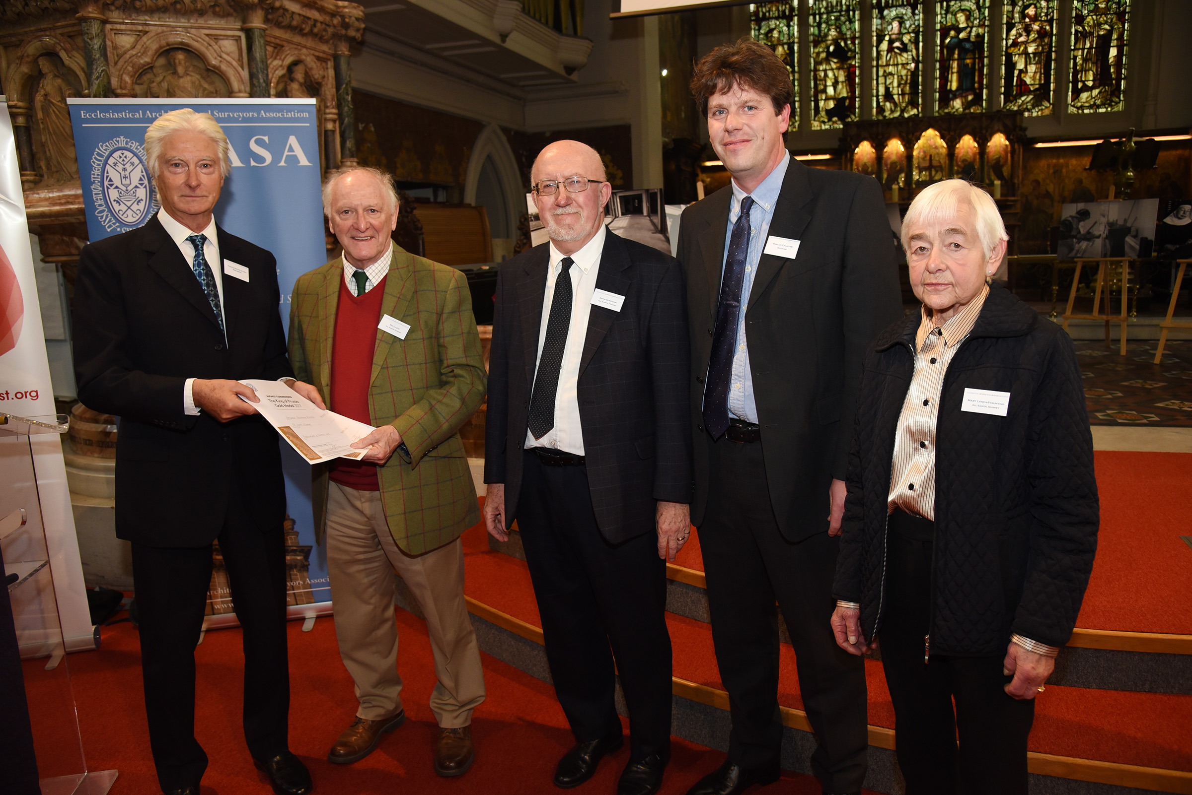 All Saints, Nunney and Benjamin + Beauchamp Architects, Highly Commended for the King of Prussia Gold Medal