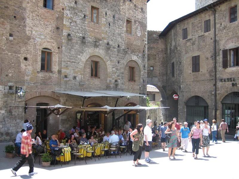 Medieval village San Gimignano Tuscany