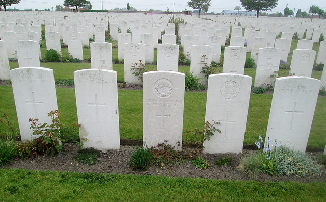 War Graves, Poelcapelle War Cemetery
