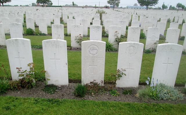 War Graves, Poelcapelle War Cemetery