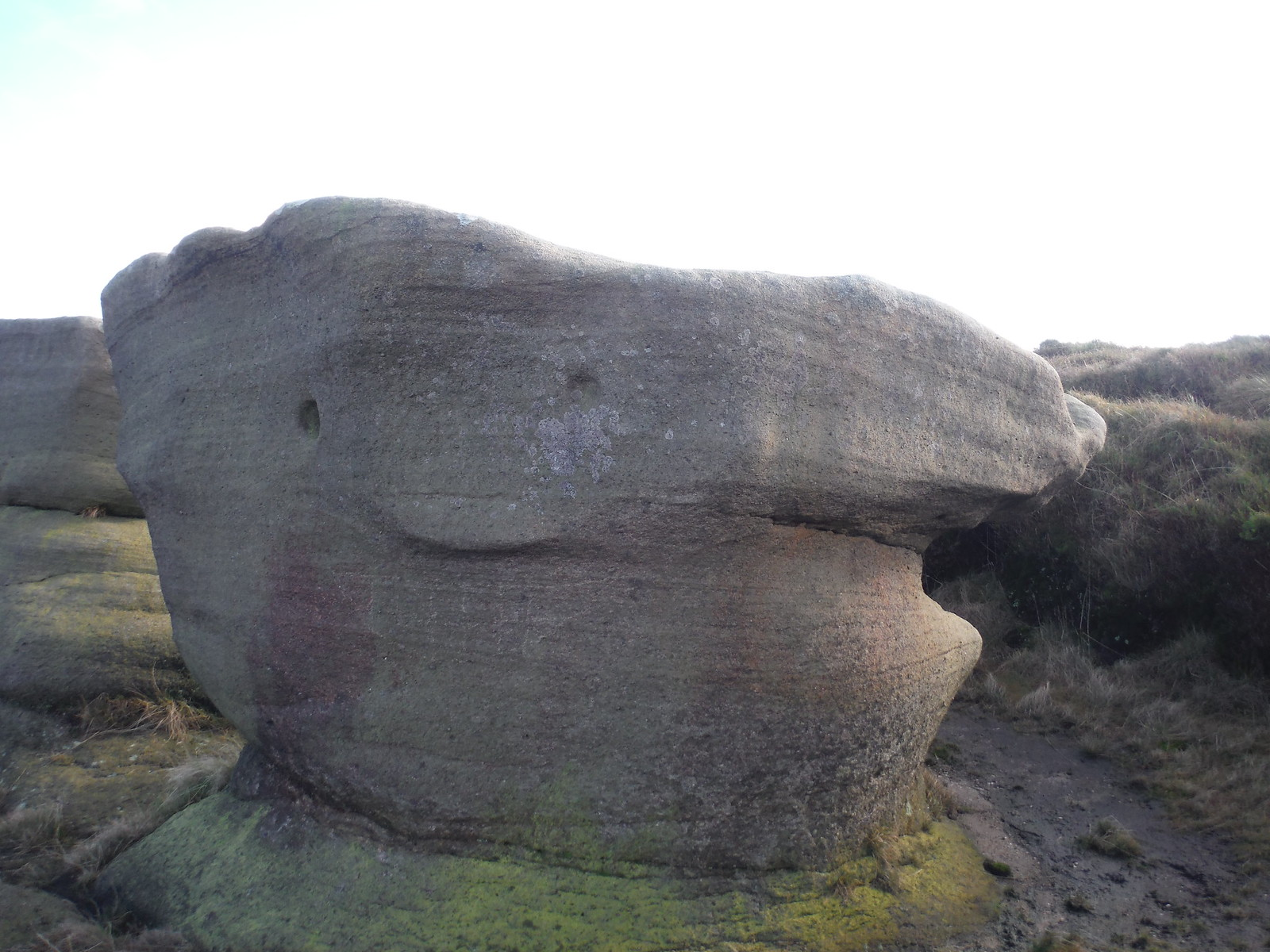 Smiley Face SWC Walk 304 - Kinder Scout Circuit (from Edale)