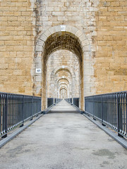 1e étage du Viaduc de Chaumont - Photo of Villiers-le-Sec