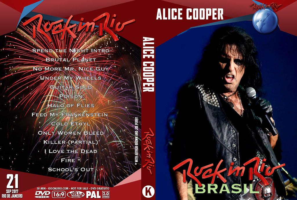 Alice Cooper - Rock In Rio 2017