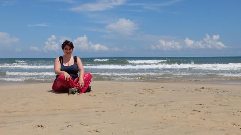 Tras esta foto es una playa mucho más interesante
