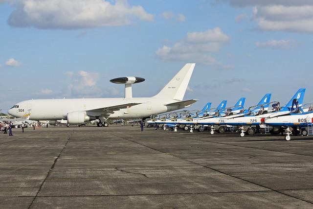 ブルーインパルス 警戒航空隊 第602飛行隊 E-767 84-3504 IMG_4520_2
