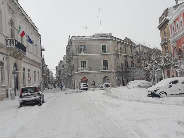 foto nevicata 2° giorno