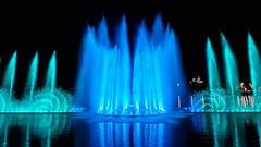 У самого большого фонтана Краснодарского края начались зимние каникулы