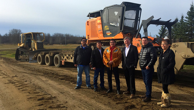 Funding boosts Whitefish Lake First Nation economy