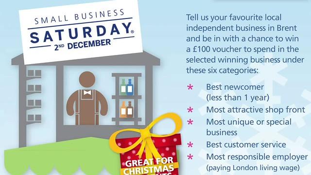 Small Business Saturday 720