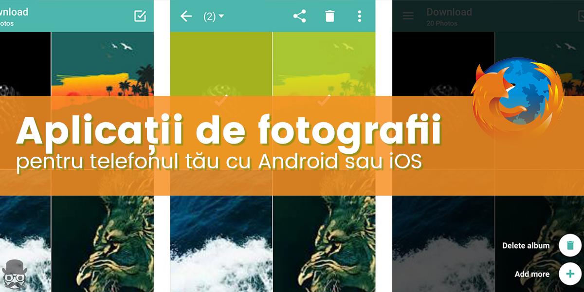 Aplicatii pentru fotografii
