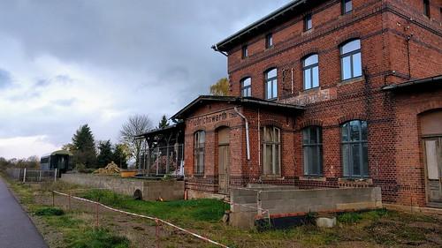 Ehemaliger Bahnhof Friedrichswerth in Thüringen