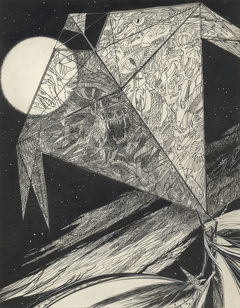 Joseph Mugnaini - The Halloween Kite,  1972