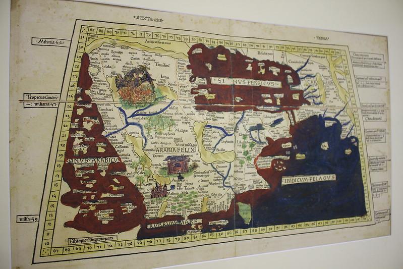 Sexta Asie Tabula, Claudius Ptolemaeus, 1482-1586 - Foire du Livre de Charjah