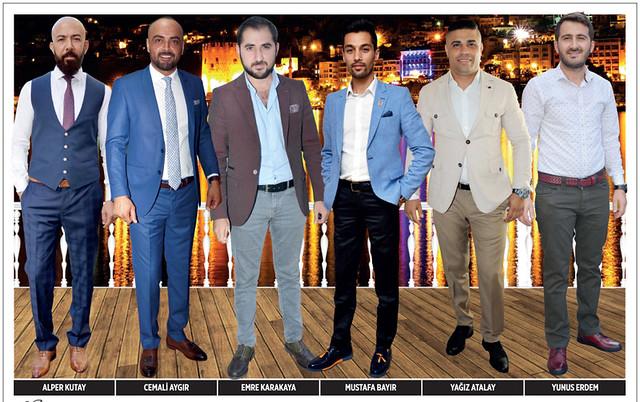 Alper Kutay, Cemali Aygır, Emre Karakaya, Mustafa Bayır, Yağız Atalay, Yunus Erdem