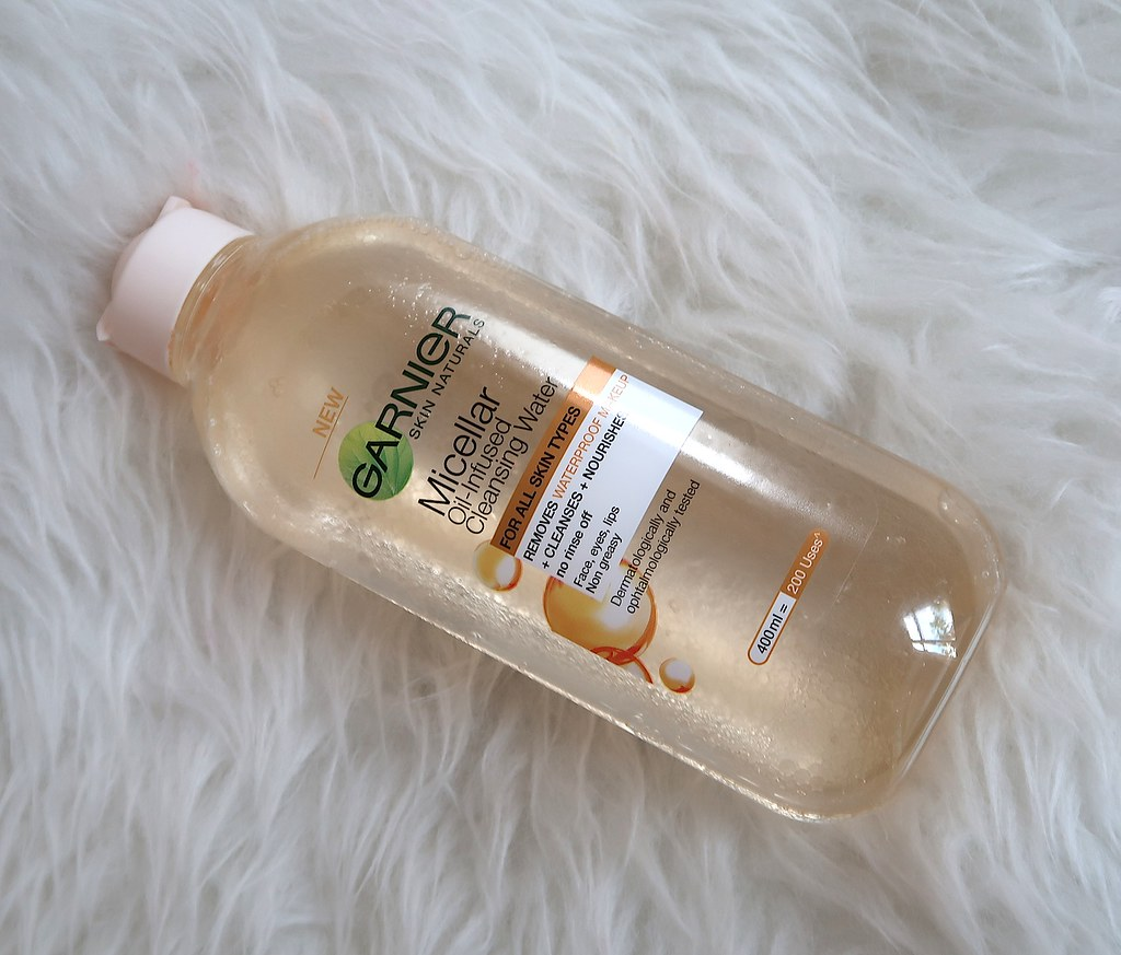Garnier Oil-infused micellar water
